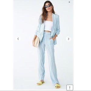 Pants - High-Rise Striped Pants